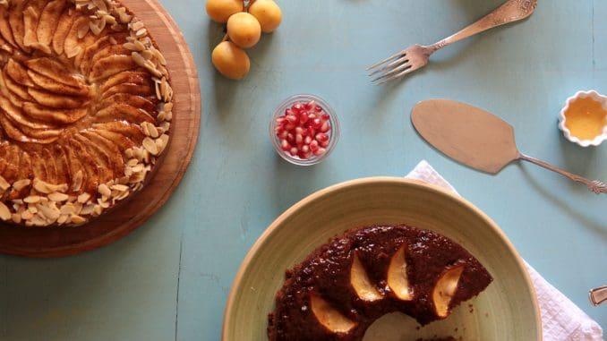 מבחר של עוגות דבש בשילובים שונים
