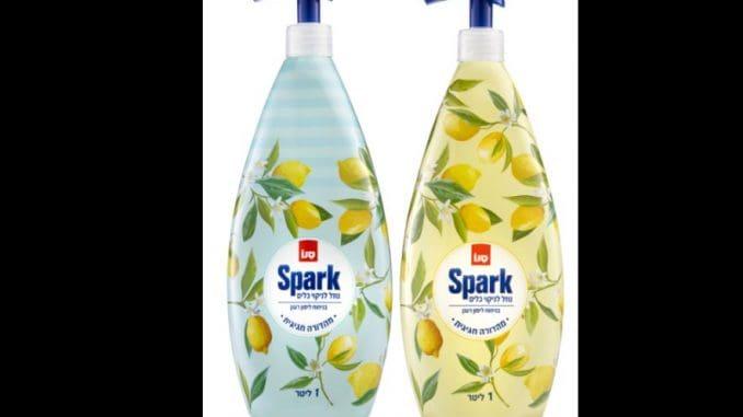 עיצובי נוזל הכלים סנו ספארק נבחרו על מנת לאפשר לצרכן שימוש בבקבוק מקורי שיקשט את המטבח