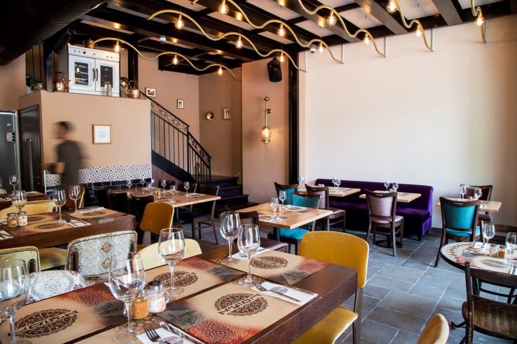 שטח המסעדה החדשה גדול במיוחד עם שתי קומות וכ-150 מקומות ישיבה