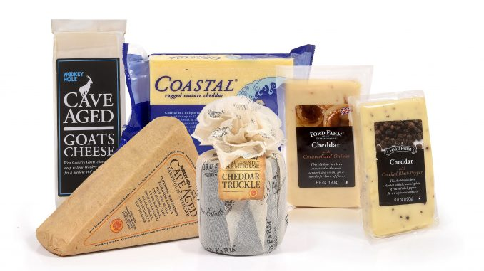 ישרקו תייבא שמונה סוגי גבינות צ'דר מתוך ליין של כ- 15 סוגים של המותגים