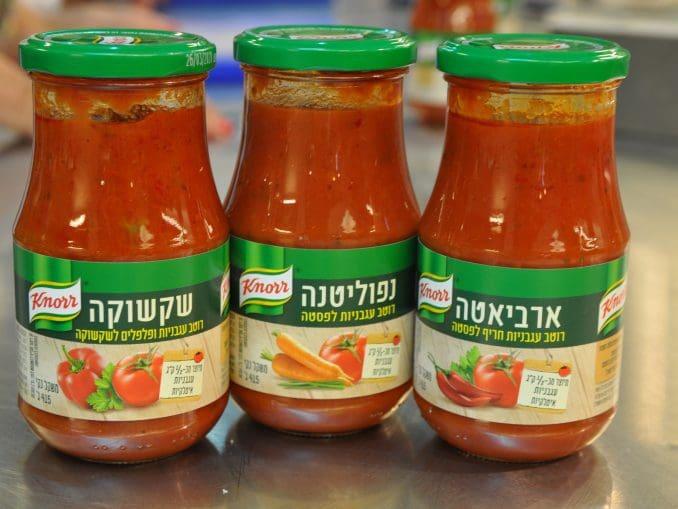 סדרת מוצרים חדשה של רוטבי עגבניות