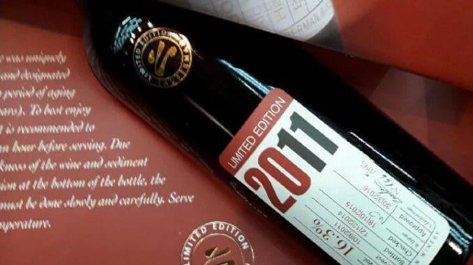 זאוברמן 2011 לימיטד אדישן – קונים אותו כדי להגיד 'יש לי יין יקר בבית'. צילום אלון גונן