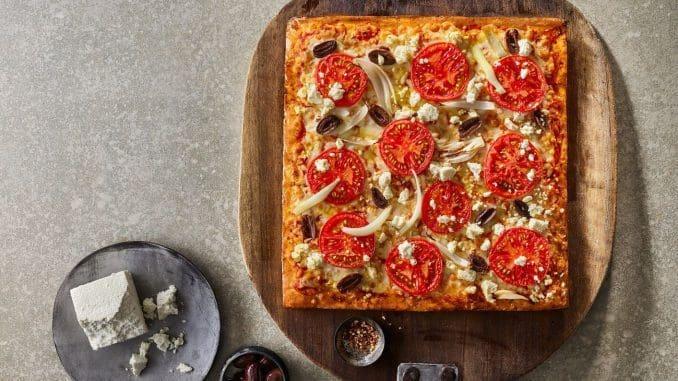 אופציה טעימה למזמיני פיצה טבעונית ולמי שנמנעים מגלוטן ומלקטוז. צילום דן פרץ