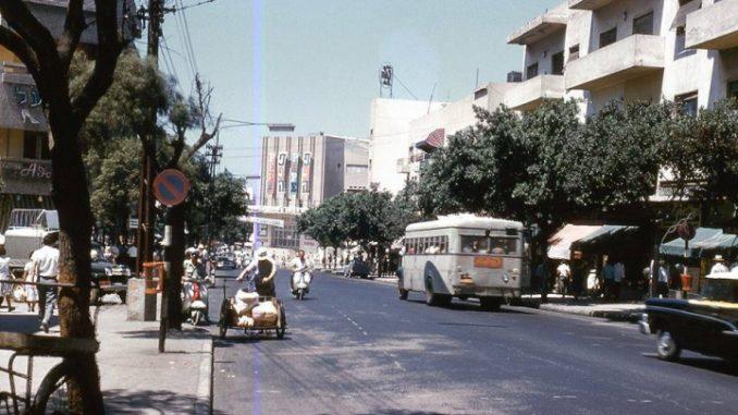 רחוב אלנבי בימים יפים יותר. צילום מהבלוג Creatives של שי רג'ואן