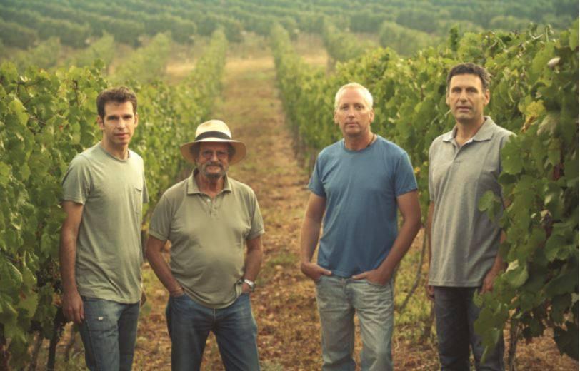 מימין לשמאל: גולן פלם, דורון רב הון, אלי בן זקן, ערן פיק. צילום מדף הפייסבוק