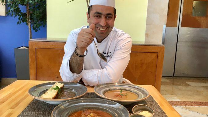 רפיק ג'ברין - השף הראשי של הילטון תל אביב. צילום מוטי ורסס