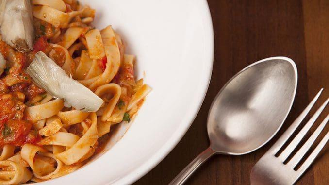 המחיר הממוצע של משלוח ממסעדות פסטה: 120 ₪. תמונה ממסעדת פסטינה בבאר שבע. צילום rest