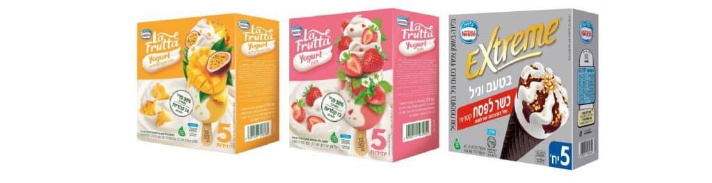 מאגדות שלגונים חדשות של 50% פרי ובכל שלגון 67-90 קלוריות. גלידות מאוזנות יותר תזונתית, מופחתות קלוריות, סוכר ושומן. צילום סטודיו אסם