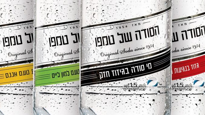 טמפו נפרדת מעיצוב המגן ההיסטורי על הבקבוקים ועוברת לעיצוב ומראה עדכניים יותר תוך שמירה על הפשטות העיצובית של בקבוק הסודה
