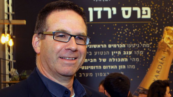"""יאיר שפירא מנכ""""ל יקב רמת הגולן. גם הוא הגיע מהקפה. צילום דוד סילברמן dpsimages"""