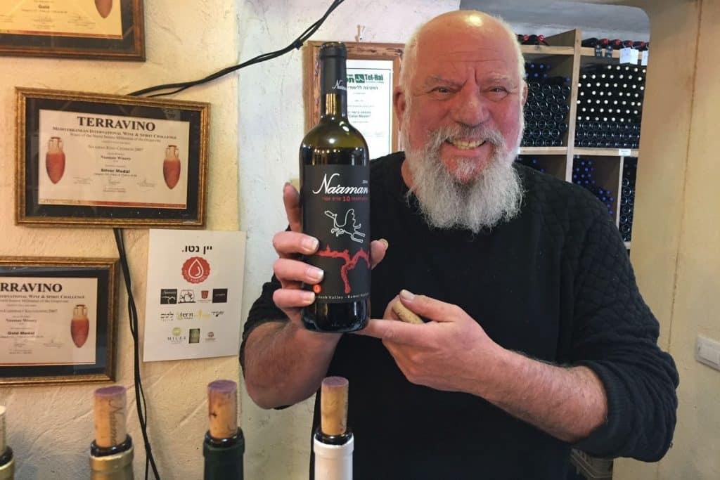 רמי נעמן – האם יגשים את חלום דרך היין של הגליל העליון? צילום פאפא רצי