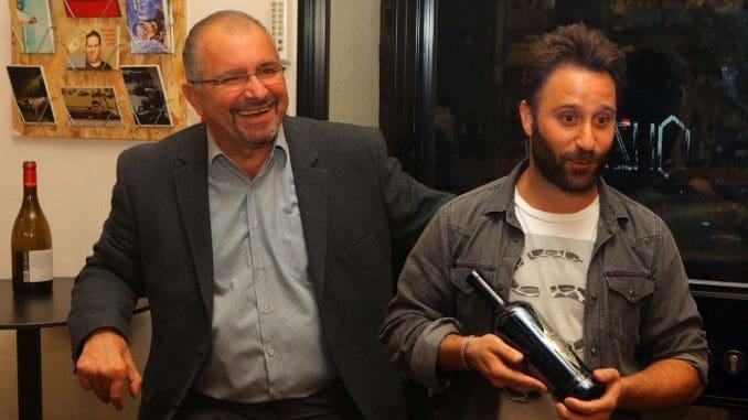"היועץ ד""ר ארקדי פפיקיאן ואבי נחמיאס מנכ""ל יקב רימון. צילום דוד סילברמן dpsimages"
