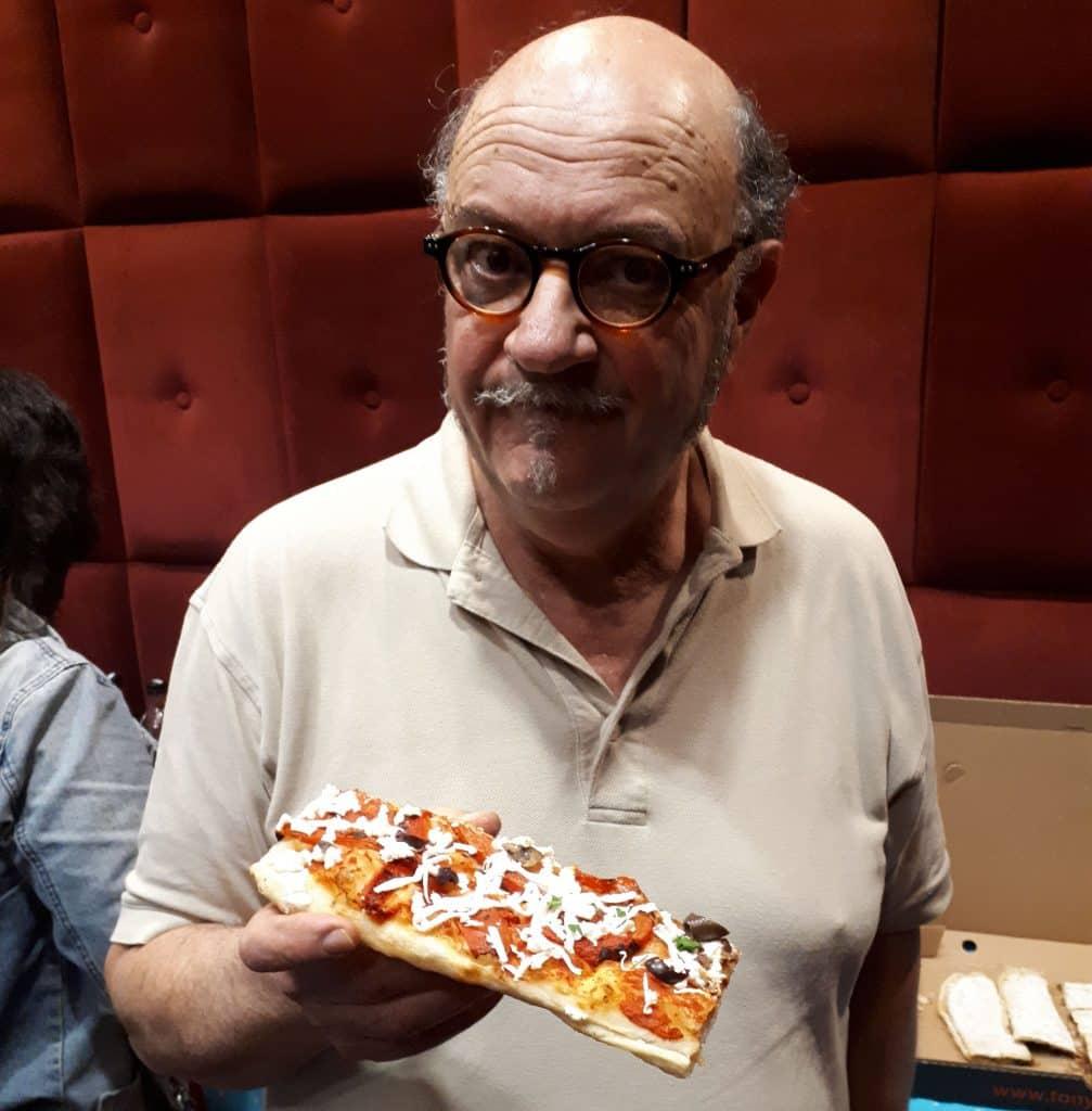 שף ליאון אלקלעי איש טוני ווספה הביא לארץ לפני 12 שנה קונספט שונה של פיצה. צילום איריס לוי
