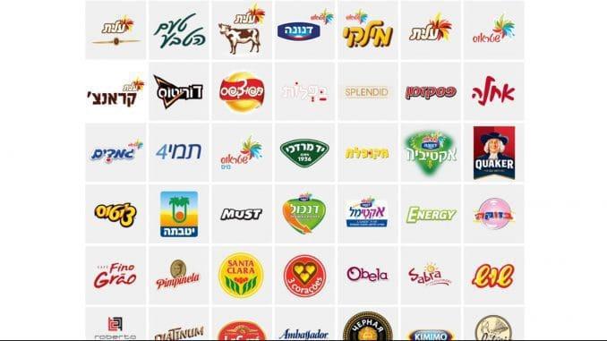 לקבוצת שטראוס יש מגוון רחב של מותגי מזון ומשקאות ב-13 תחומי פעילות. צילום מהאתר