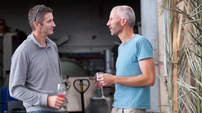 האחים טל (מימין) וניר פלטר – יקב מטר. צילום מדף הפייסבוק