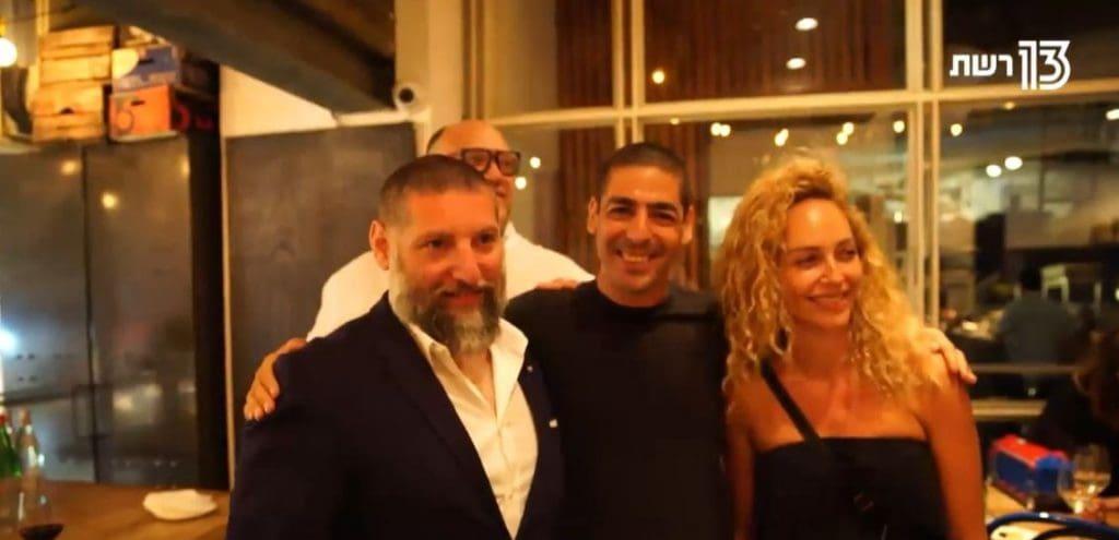 מירי בוהדנה והשופטים של משחקי השף 3. צילום מסך מרשת 13
