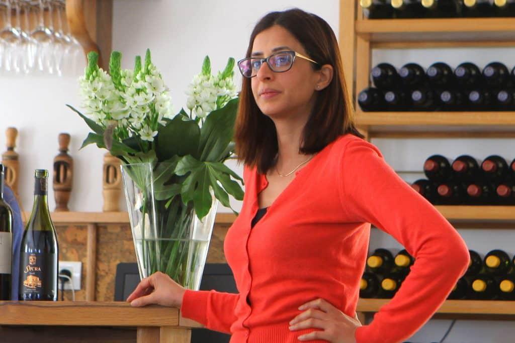 יערה שמעוני - אשת המיליונים שתחלק את תקציב פרויקט קידום היין בארצות הברית. צילום דוד סילברמן d