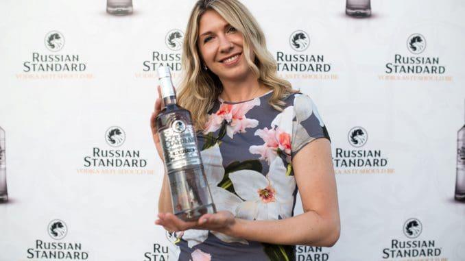 את ההשקה הובילה טטיאנה פטרקובה, השגרירה העולמית של רוסקי סטנדרט. צילום תומר גץ