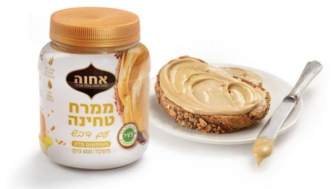 לראשונה מוצע בישראל ממרח טחינה עם דבש המתאים לשימוש כממרח מתוק בכריכים, לעוגות ועוגיות. צילום יעל האן