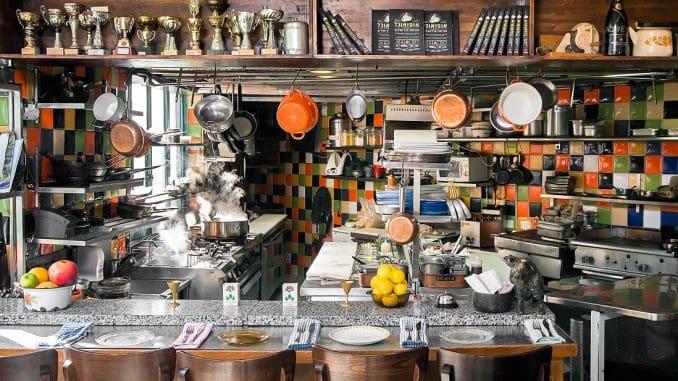 המטבח של מסעדת מחניודה. צילום מהאתר