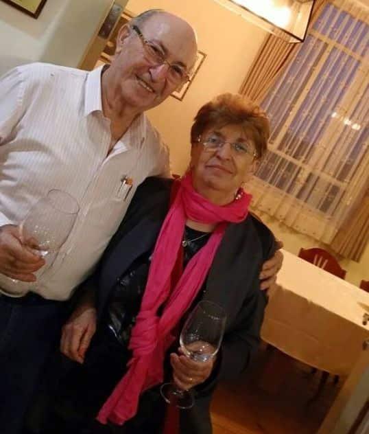 ההורים של שרונה ואסף. צילום אסף פז