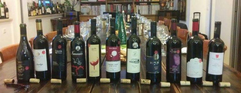 יינות נטו מוכנים ליריד. צילום בטינה נעמן