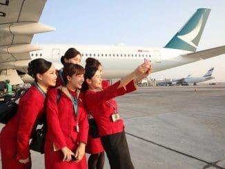קתאי פסיפיק מפעילה טיסות ישירות בקו תל אביב-הונג קונג עם חיבורי המשך נוחים ל-75 יעדים באסיה והפסיפיק. צילום יוסי אלוני