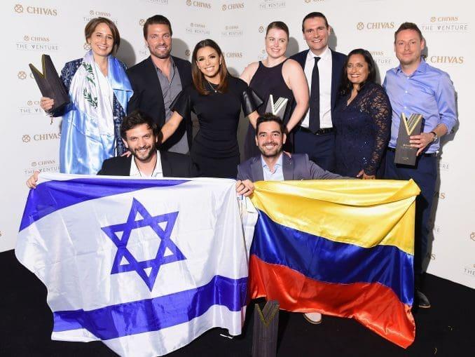 הסטארט-אפ EyeControl ייצג את ישראל בתחרות העולמית ב-2016 וזכה במקום השלישי ובפרס של 132,000 דולר לפיתוח המיזם. Photo by Michael Loccisano/Getty Images