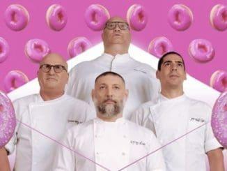השופטים בתכנית בהנחיית מירי בוהדנה הם שף ארז קומרובסקי שמצטרף אל שף אסף גרניט, שף מושיק רוט ושף יוסי שטרית. צילום רשת 13