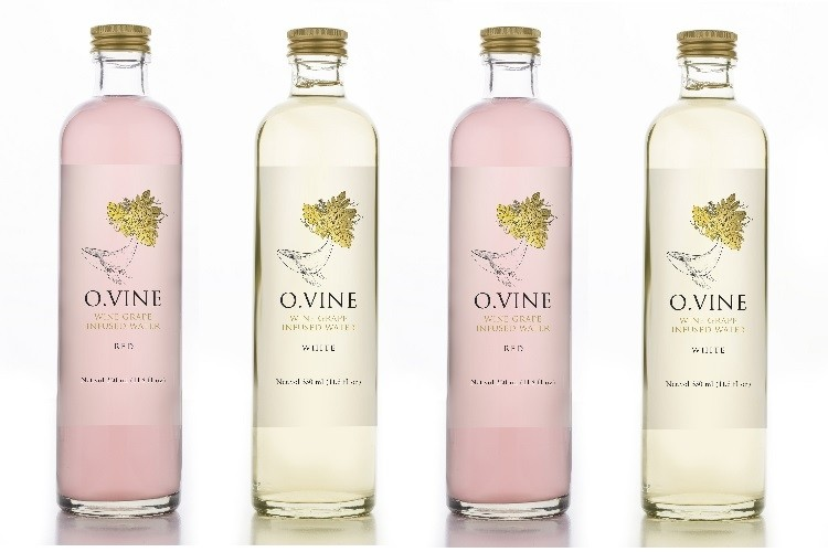 O.Vine no alcohol wine water