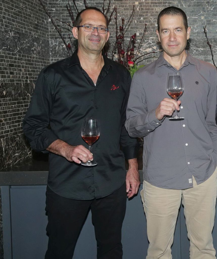 יעקב בן דור (משמאל) וערן גולדווסר. צילום שוקה כהן