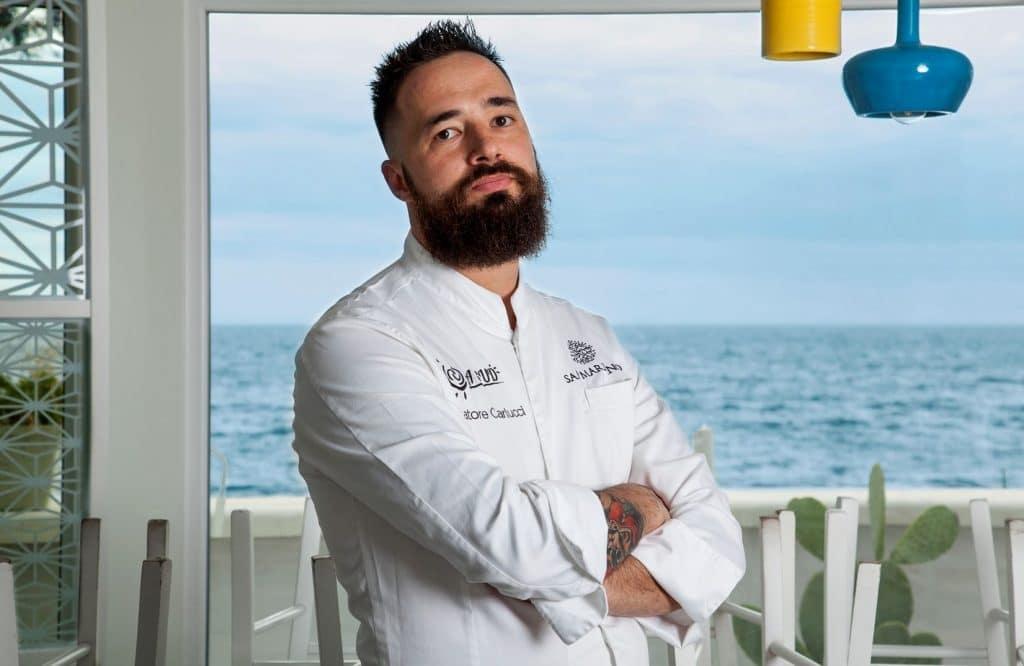 שף סלווטורה קרלוצ'י נולד בחבל פוליה שבדרום איטליה. את אהבתו לבישול גילה כבר בגיל שש. צילום Veronica Mazoni