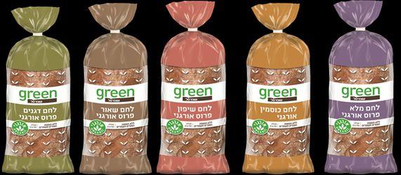 הסדרה כוללת לחם שאור אורגני, לחם כוסמין אורגני, לחם דגנים אורגני, לחם מקמח מלא אורגני, לחם שיפון אורגני, וחלה אורגנית. צילום שופרסל