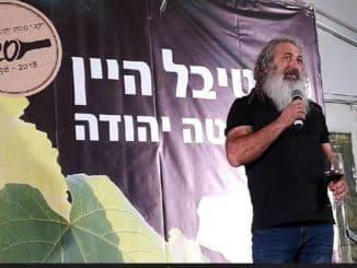 אבי יהודה מיקב יהודה. משתתף קבוע בפסטיבל מטה יהודה. צילום ישראל פרקר