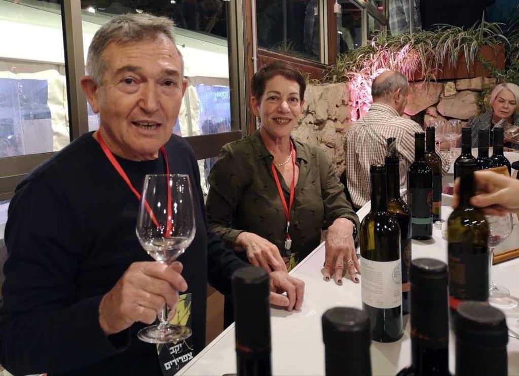 לורי ושייקה לנדר מיקב צפרירים – גם בפסטיבל וגם השקה שלהם ביקב ב-7.12. צילום ישראל פרקר