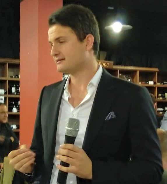 ג׳יובני גאיה- מנהל השיווק של היקב. צילום יאיר קורן