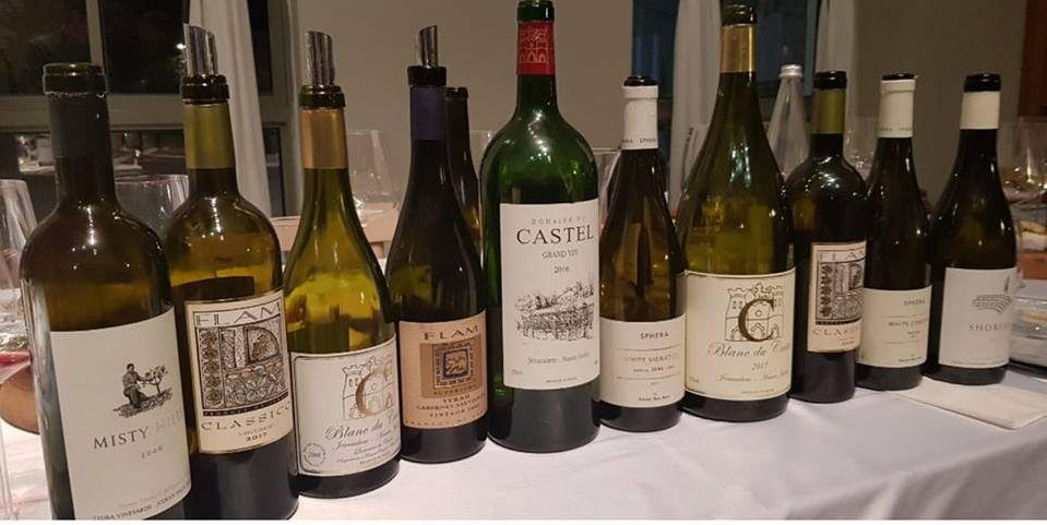 יינות הקוורטט בטעימה. צילום מדף הפייסבוק