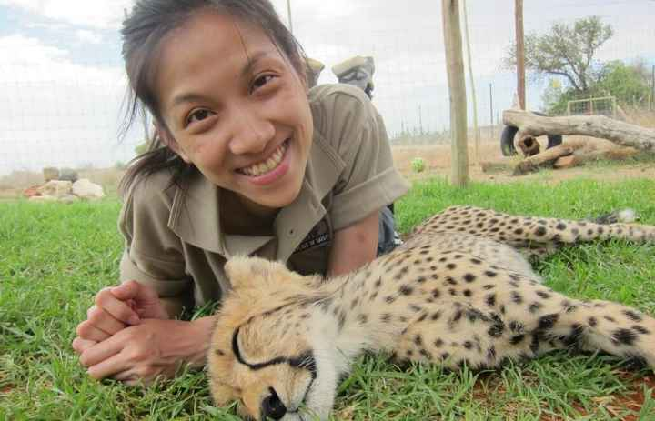 התנדבות בחוות שיקום חיות בר בדרום אפריקה. צילום GeoCo