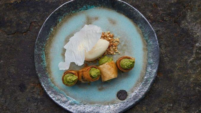 מנה של שף מקסוט אקשר. צילום סרין דאל