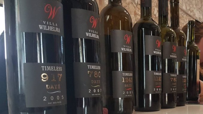 יינות timeless של יקב וילה וילהלמה