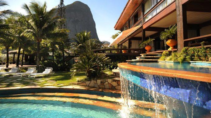המלון בו תשהו הוא חלק חשוב מהצלחת הטיול. Le Chateaux Joá Boutique Hotel, Rio de janeiro, Brasil