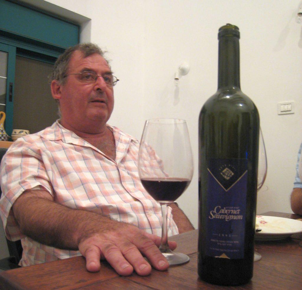 התמונה שזאב דוניה שלח: רוני ג'יימס בטעימה של טדי, ספטמבר 2007