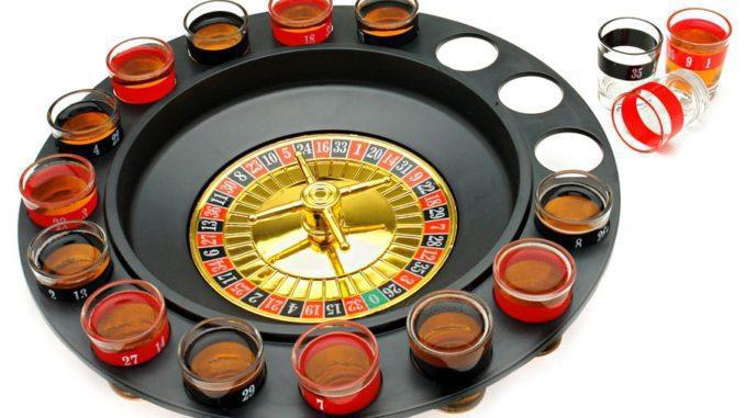 רולטת שוטים - משחק קל שיגרום לכם להשתכר מהר מאוד. מתאים גם לחסרי יכולות מוטוריות וגם למי שבשלב הזה כבר לא מצליח להבין חוקים