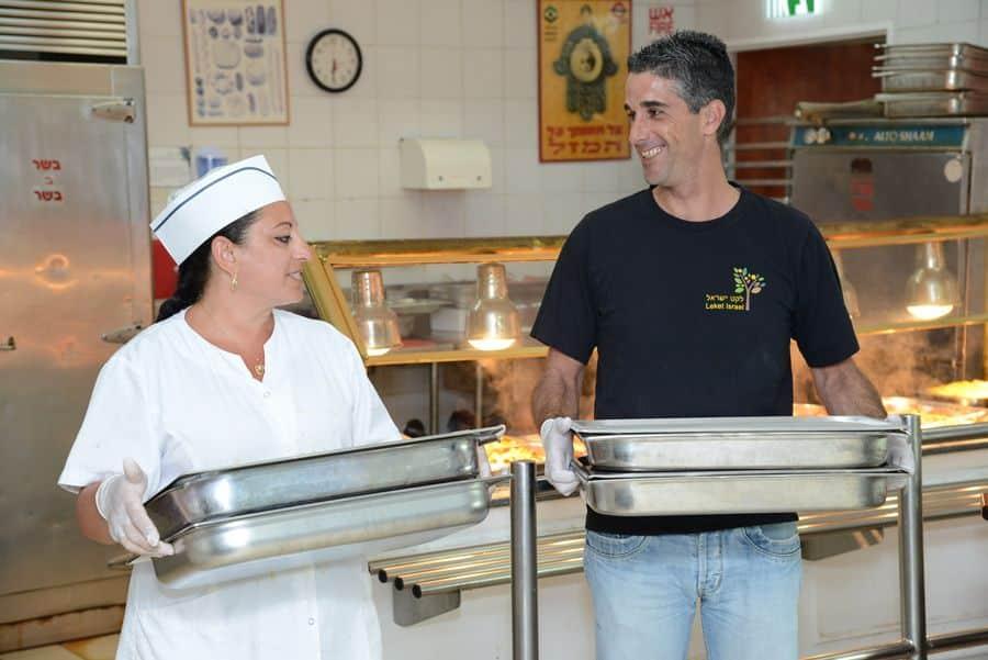 לקט ישראל זה גם איסוף אוכל שנשאר במטבחי בתי מלון
