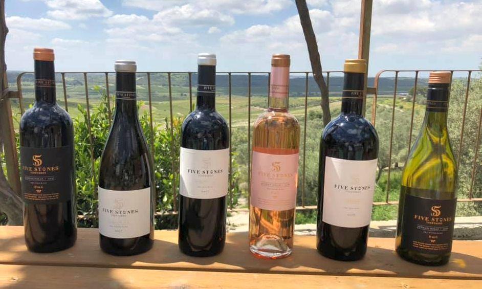 יינות יקב FIVE STONES. צילום מדף הפייסבוק