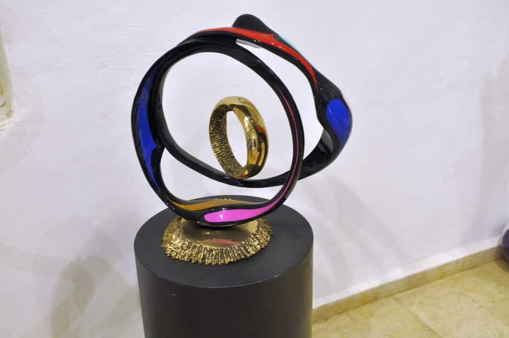 גדי פריימן - יצירות אמנות ברמה עולמית. צילום איריס לוי