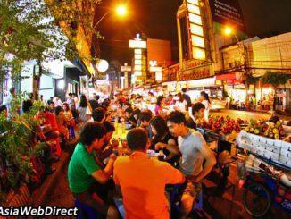 שוק לילה בבנגקוק - הקולינריה הינה דבק המחבר בין מרחב גיאוגרפי לתושבים ויוצר איכות חיים