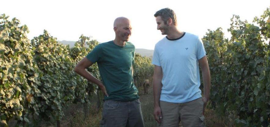 האחים טל (משמאל) וניר פלטר. צילום מאתר היקב