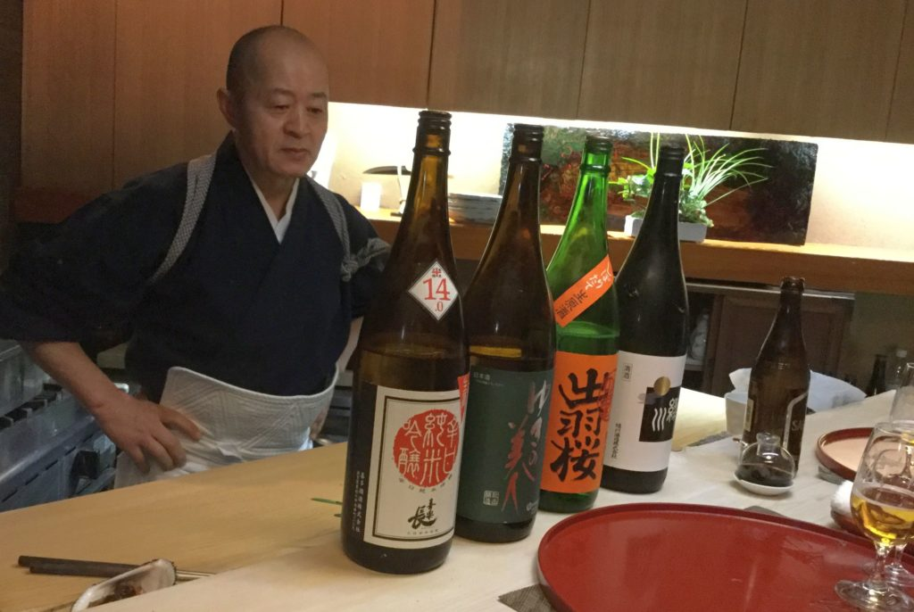 השף והבעלים של מסעדת קאפו סוזוקי - יושיטסוגו סוזוקי. צילום אביטל ענבר