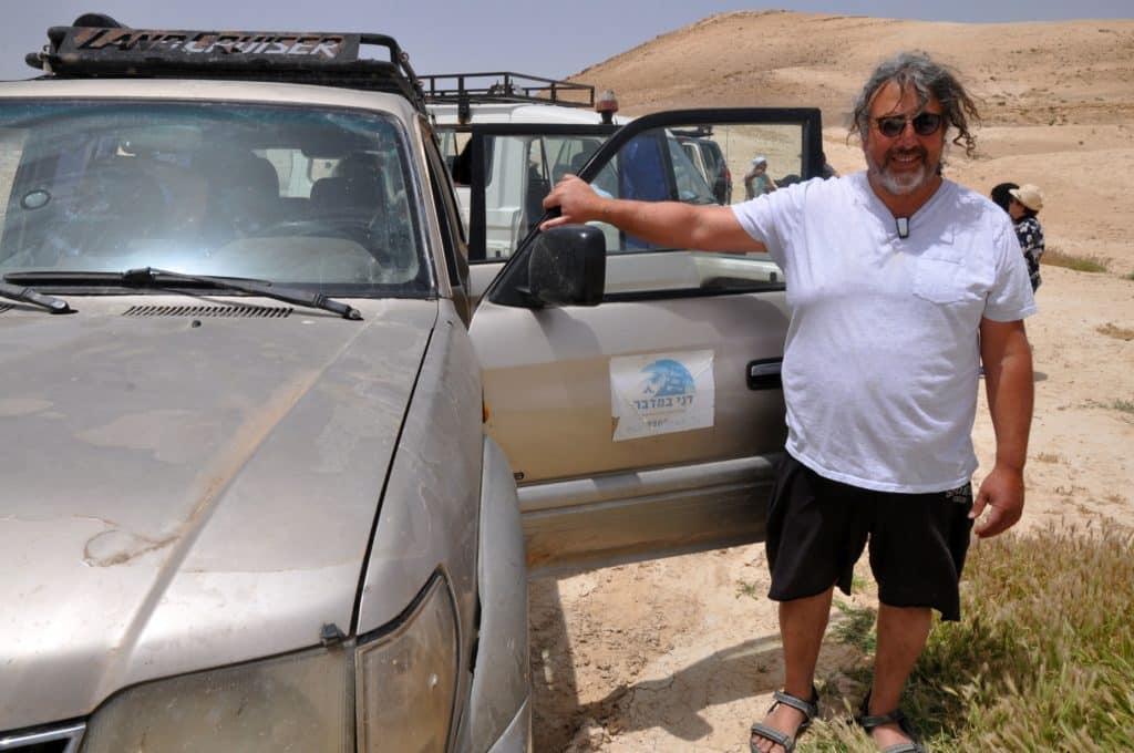 זהו דני מדני במדבר. צילום איריס לוי